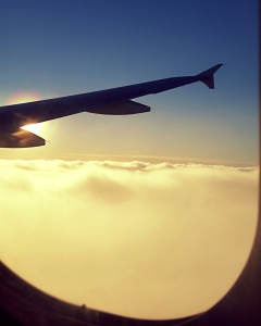 On approach to Dublin.