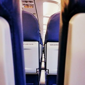 Arty shots of the Airbus A320 cabin.