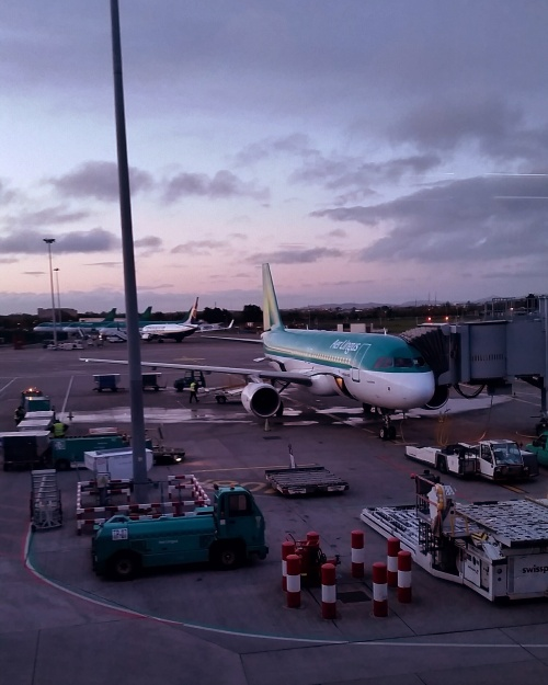 Airbus, Aer Lingus, Airport, Flying