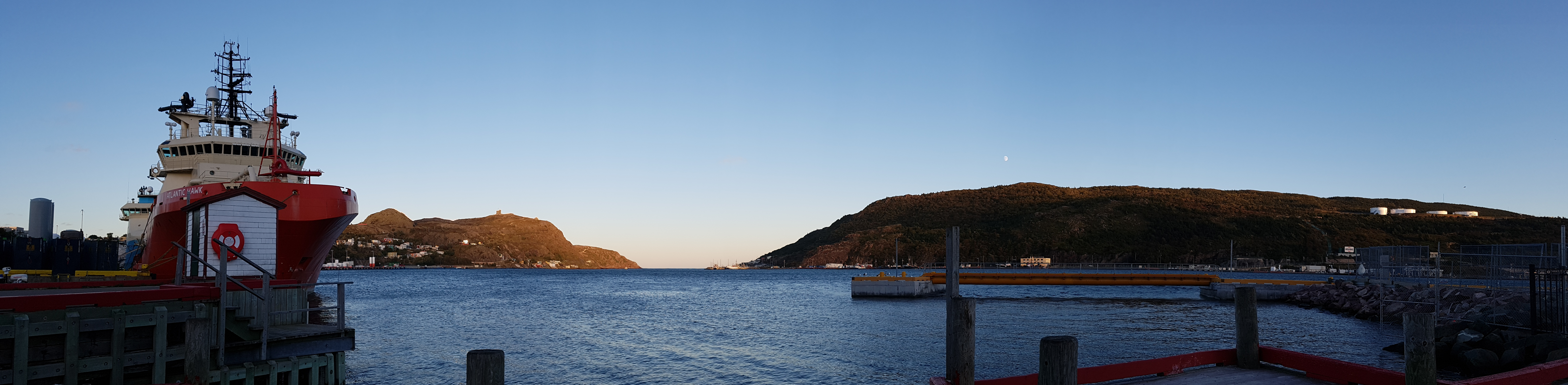 Rugged St. John's harbour, Canada